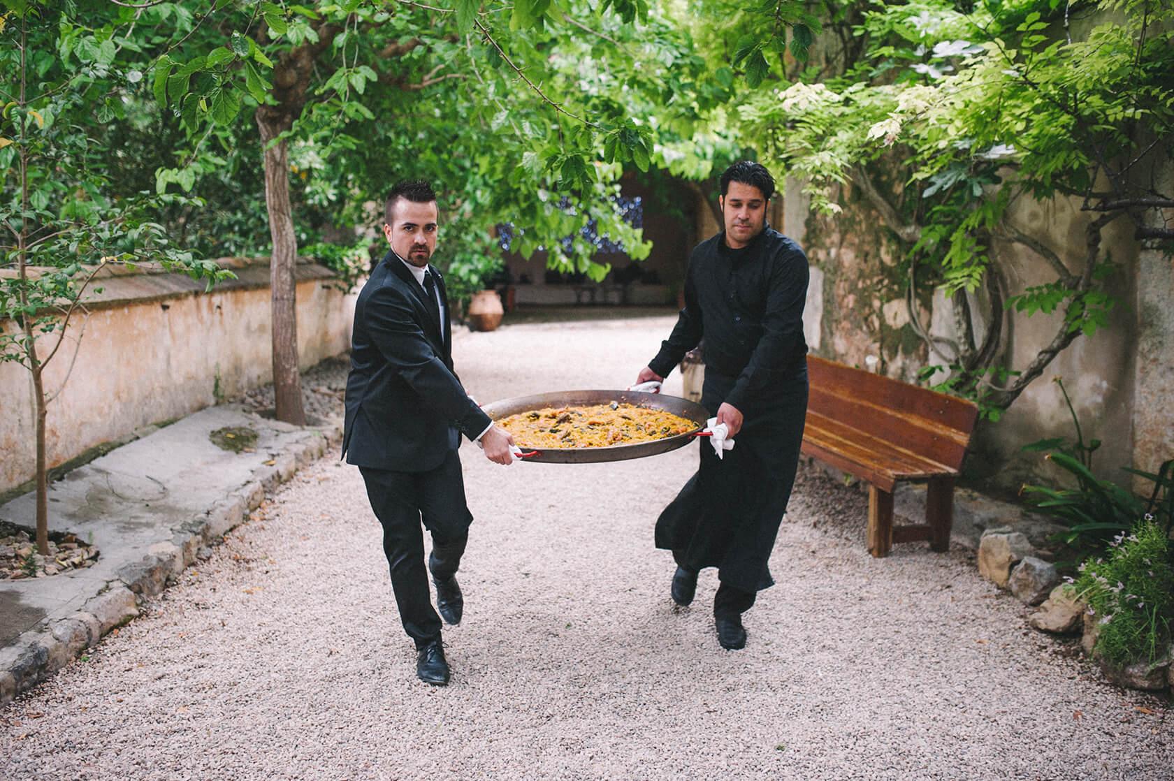 destination wedding photo shoot in villa catalina Sitges