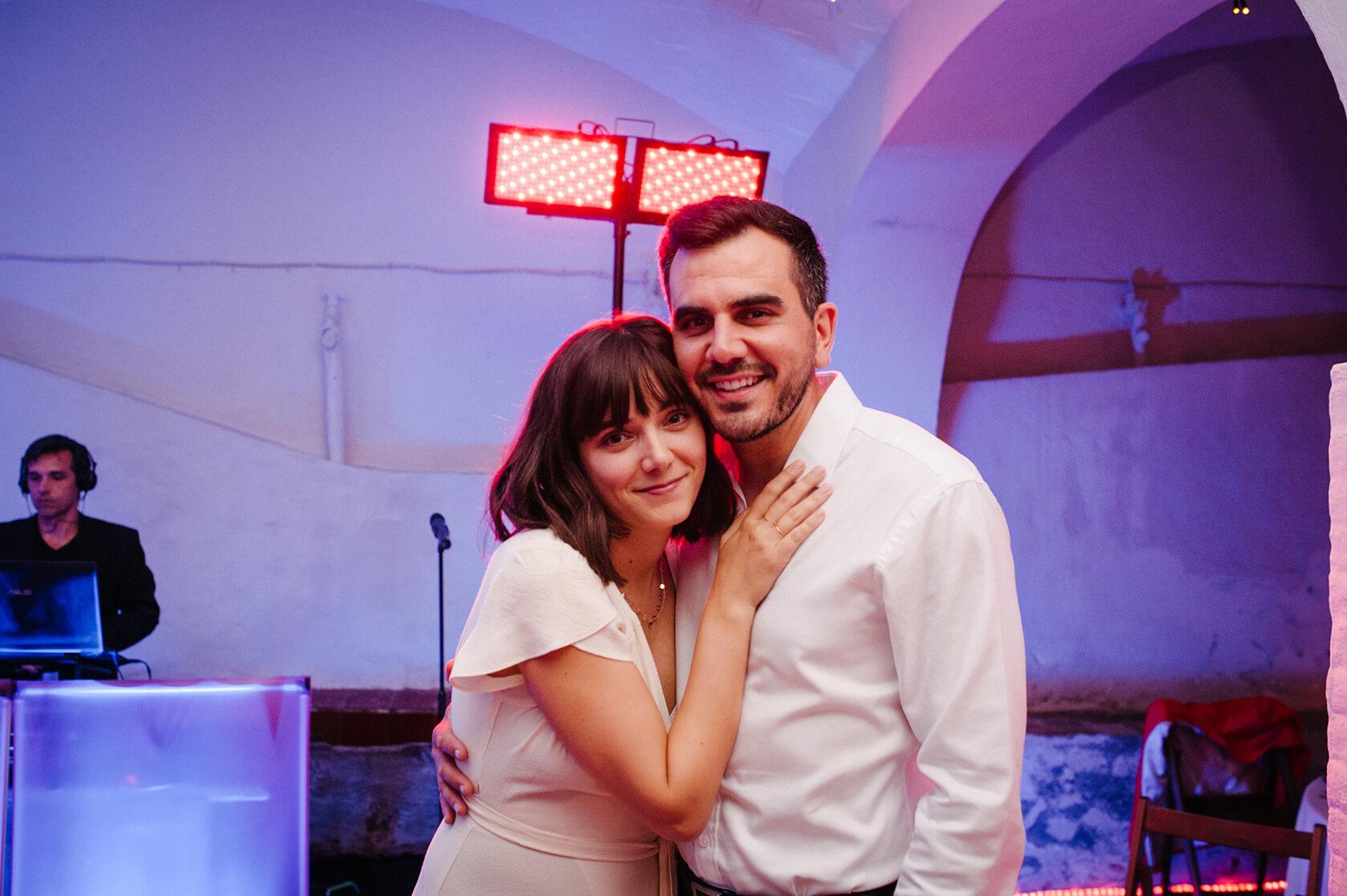 wedding party in villa catalina Sitges
