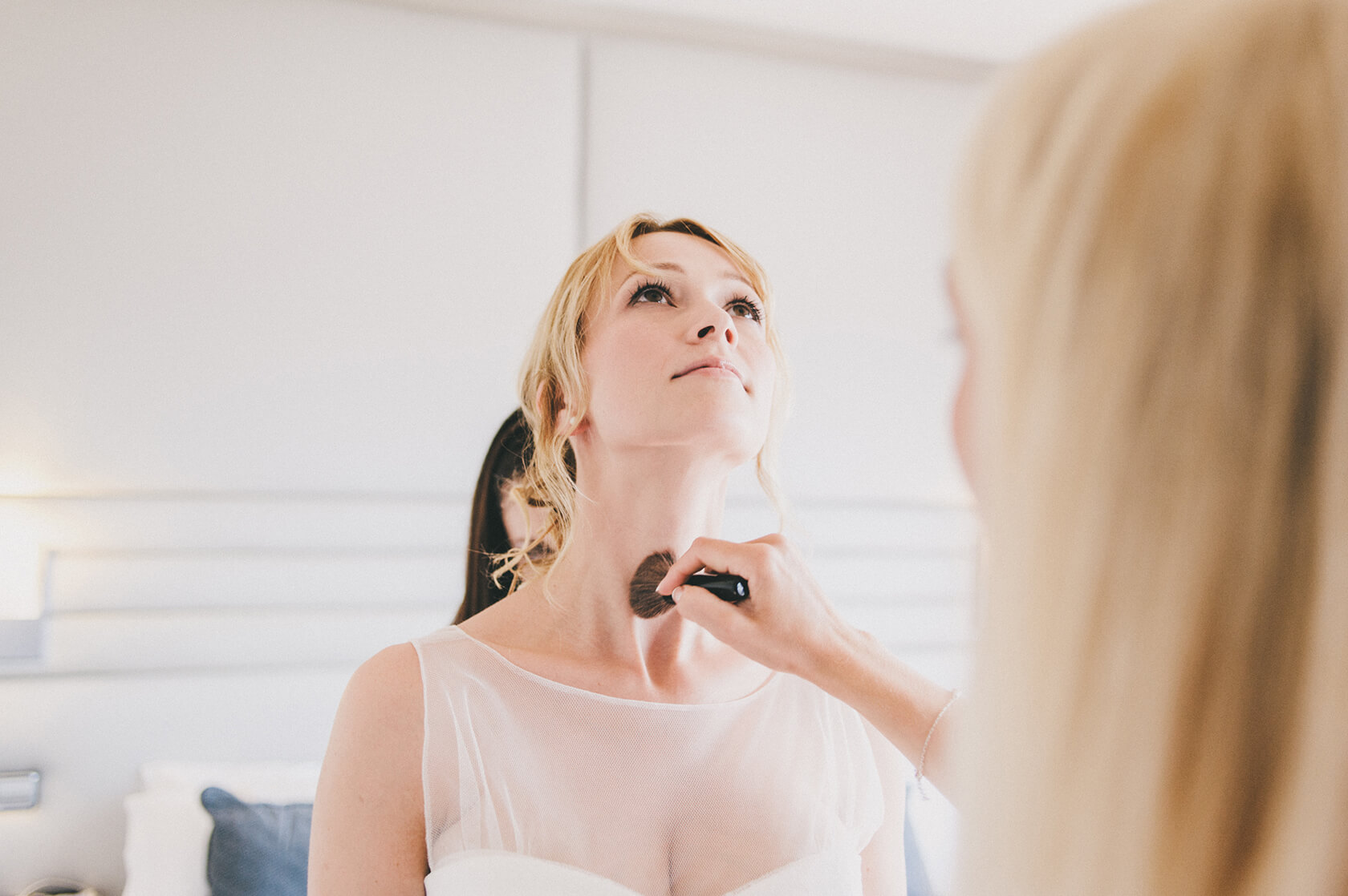 wedding make-up in hotel-h10 Marina, Barcelona