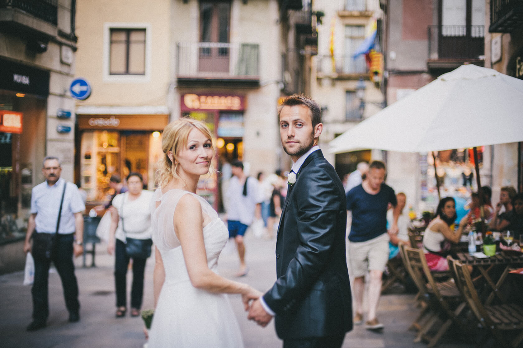 wedding photo session in Barcelona