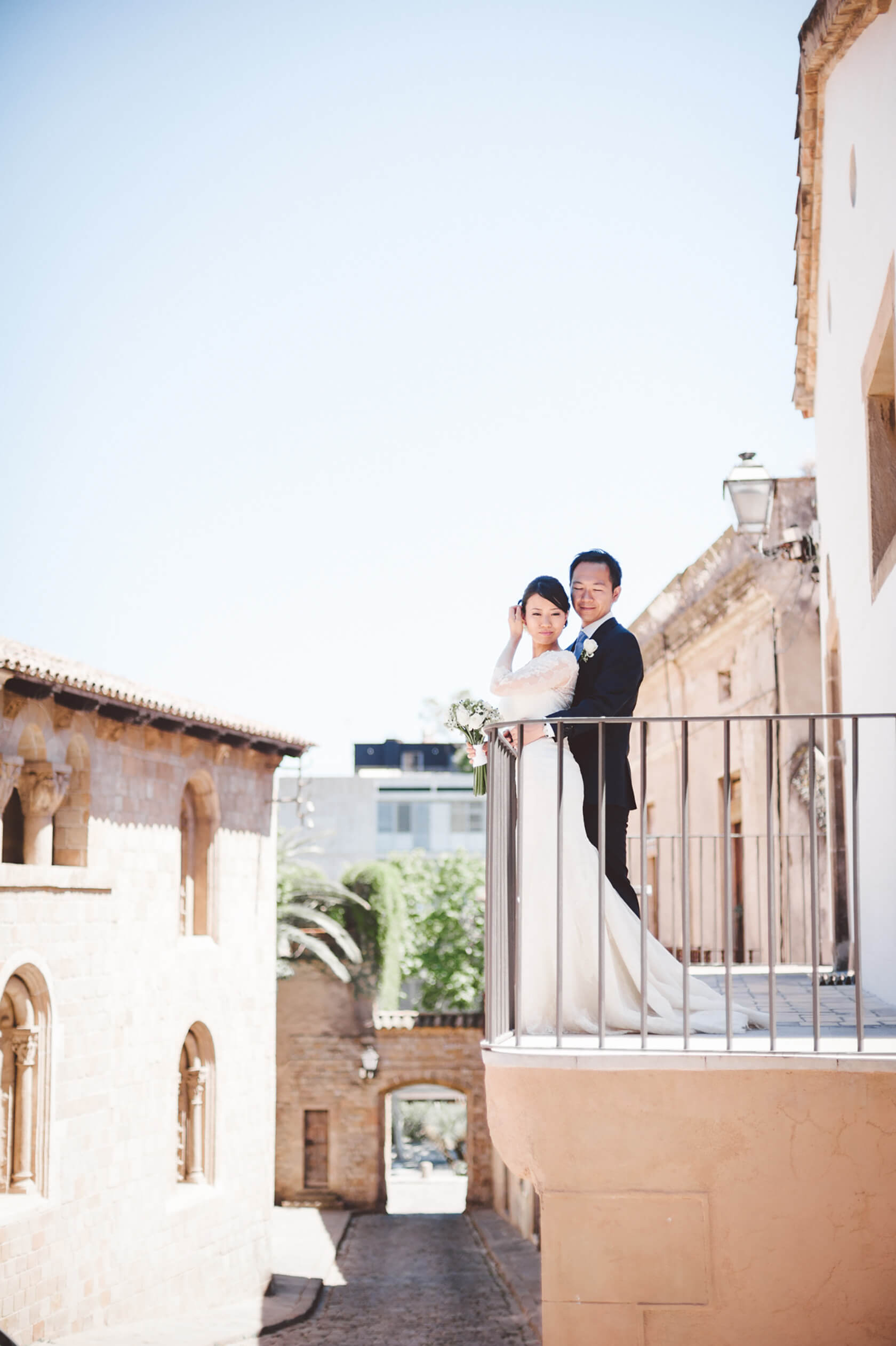 Pedralbes destination wedding Barcelona