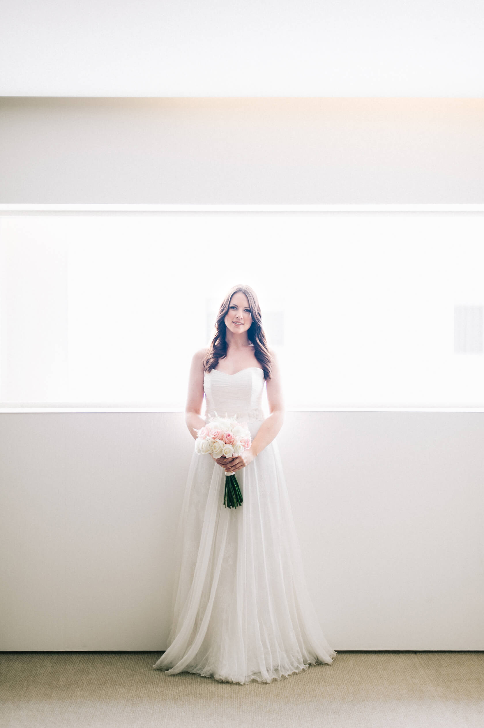 Bride at Mandarin Oriental Barcelona Hotel