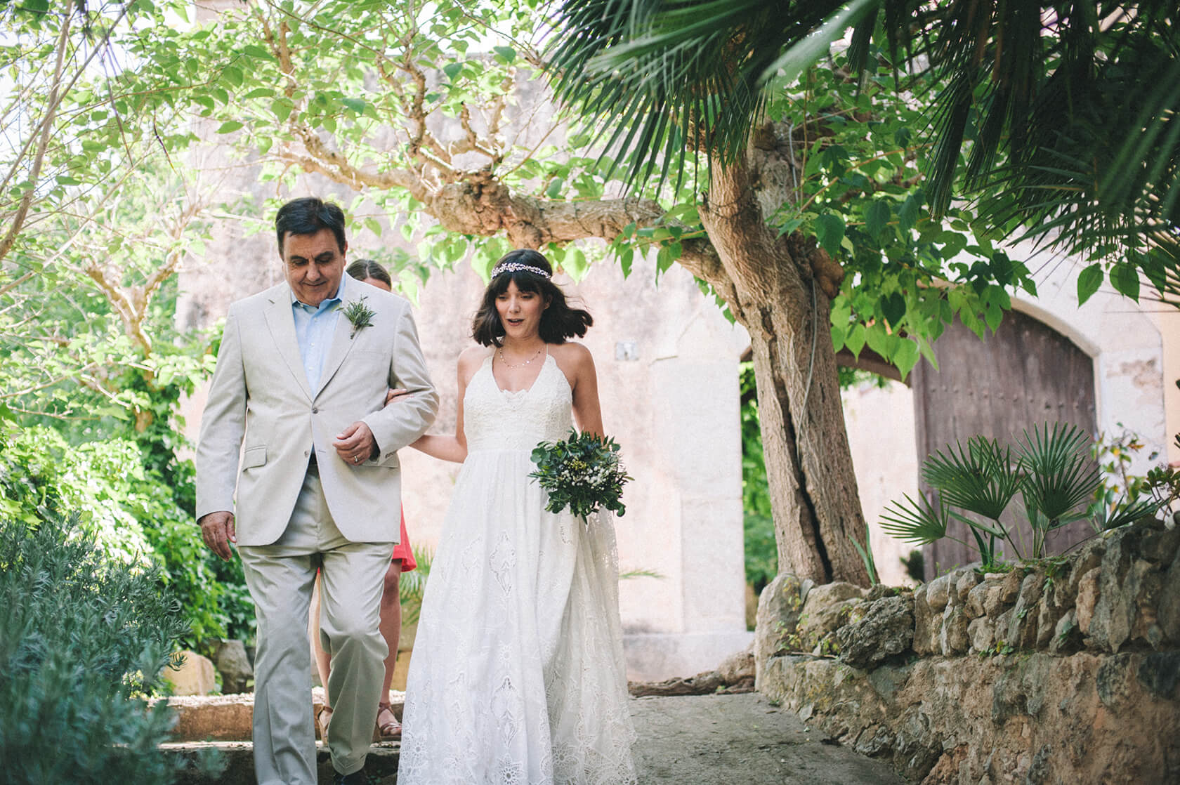 destination wedding in villa catalina Sitges